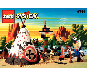 LEGO Chief's Tepee Set 6746 Instructions