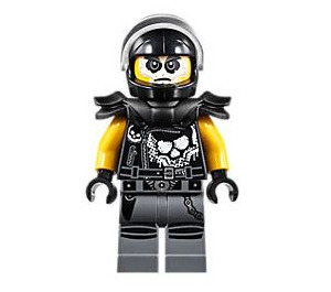 LEGO Chopper Maroon Minifigure
