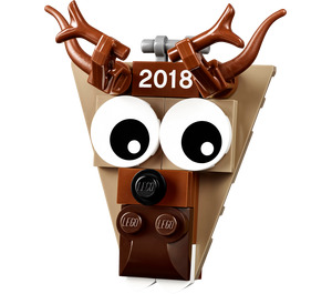 LEGO Christmas Ornament 2018 - Reindeer Head (5005253)