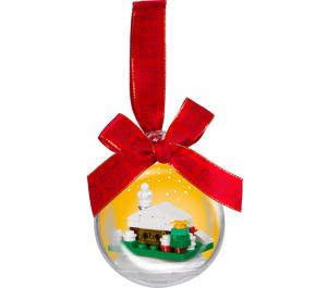 LEGO  Christmas Snow Hut Ornament (850949)