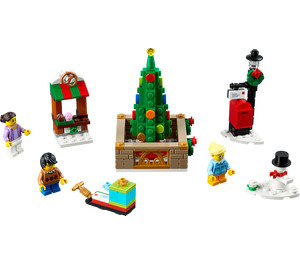 LEGO Christmas Town Square Set 40263
