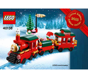 LEGO Christmas Train Set 40138 Instructions