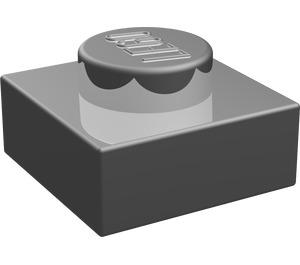 LEGO Chrome Silver Plate 1 x 1