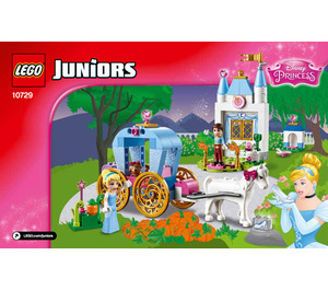 LEGO Cinderella's Carriage Set 10729 Instructions