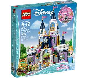 LEGO Cinderella's Dream Castle Set 41154 Packaging