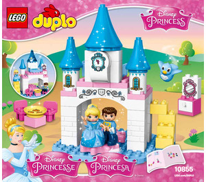 LEGO Cinderella's Magical Castle Set 10855 Instructions