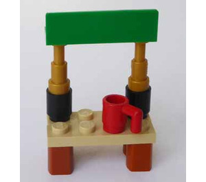 LEGO City Advent Calendar Set 60155-1 Subset Day 12 - Stand