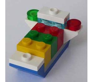 LEGO City Advent Calendar Set 60155-1 Subset Day 14 - Cargoship Toy