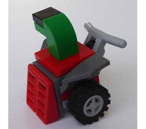 LEGO City Advent Calendar Set 60155-1 Subset Day 9 - Snowblower