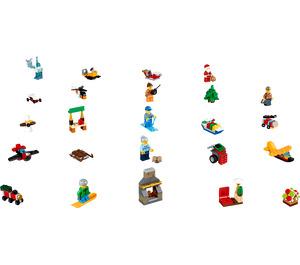 LEGO City Advent Calendar Set 60155