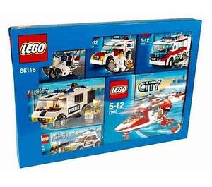 LEGO City Emergency Service Vehicles (Multipack) Set 66116