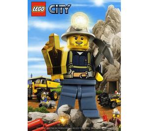 LEGO City Mining Postcard