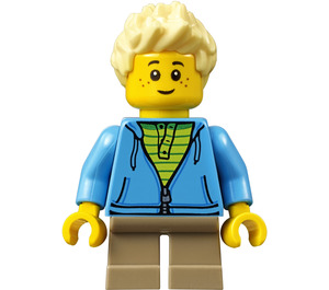 LEGO City People Pack Child with Bright Light Yellow Spiked Hair Minifigure