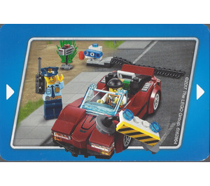 LEGO City Police Story Card 2