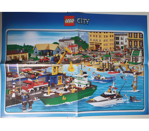 LEGO City Poster Harbor