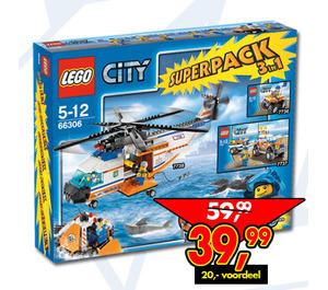 LEGO City Super Pack 3 in 1 Set 66306