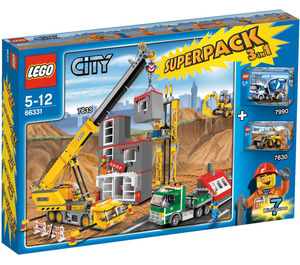 LEGO City Super Pack 3 in 1 Set 66331