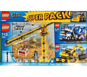 LEGO City Super Pack Set 66194