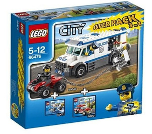 LEGO City Value Pack Set 66476