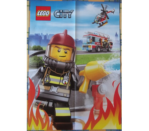 LEGO City13-1 Poster Cp50 - Fire (6035805)