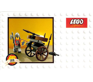 LEGO Classic Knights Minifigure Set 5004419 Instructions