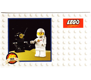 LEGO Classic Spaceman Minifigure Retro Set 5002812 Instructions