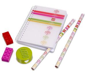 LEGO Classic Stripes Pink Stationery Set (851910)