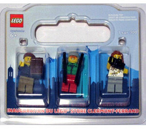 LEGO Clermont-Ferrand Exclusive Minifigure Pack (CLERMONTFERRAND-1)