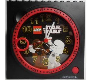 LEGO Clock Unit - Star Wars Stormtrooper & Chewbacca (C001)