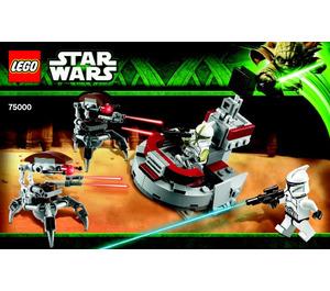 LEGO Clone Troopers vs. Droidekas Set 75000 Instructions