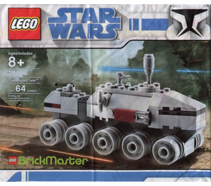 LEGO Clone Turbo Tank Set 20006