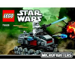 LEGO Clone Turbo Tank Set 75028 Instructions