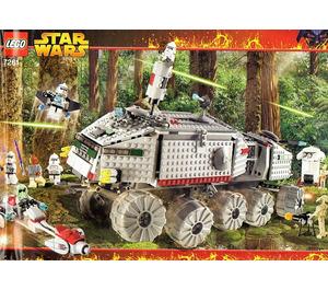 LEGO Clone Turbo Tank Set (with Light Up Mace Windu) 7261-1