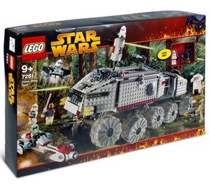LEGO Clone Turbo Tank Set (with Light Up Mace Windu) 7261-1 Packaging
