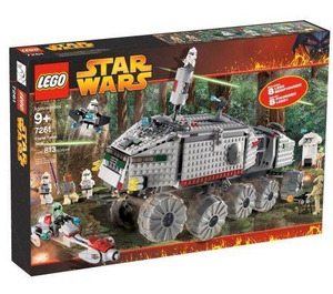 LEGO Clone Turbo Tank Set (without Light Up Mace Windu) 7261-2