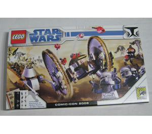 LEGO Clone Wars (SDCC 2008 exclusive) Set COMCON001 Packaging