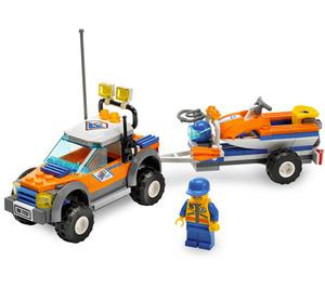 LEGO Coast Guard 4WD & Jet Scooter Set 7737