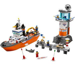 LEGO Coast Guard Patrol Boat & Tower Set 7739