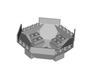 LEGO Cockpit 10 x 10 x 4 Octagonal Base (2618)