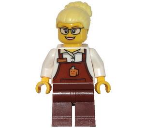 LEGO Coffee Barista Minifigure