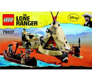 LEGO Comanche Camp Set 79107 Instructions
