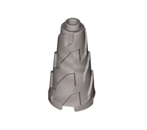LEGO Cone  2 x 2 x 3 with Spikes and Completely Open Stud (28598)