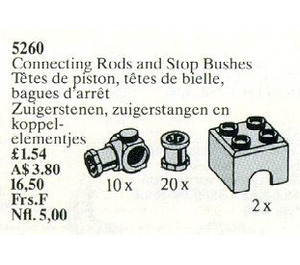 LEGO Connecting Rods and Stop Bushes Set 5260