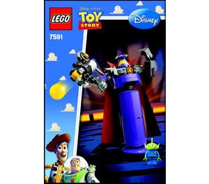 LEGO Construct-a-Zurg Set 7591 Instructions