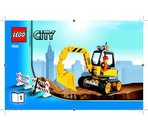LEGO Construction Site Set 7633 Instructions