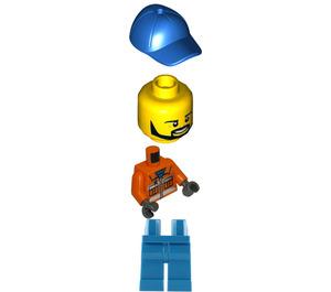 LEGO Construction Worker Minifigure