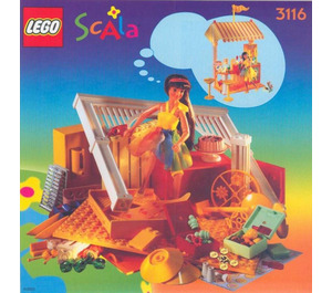 LEGO Cool Ice Cream Café Set 3116