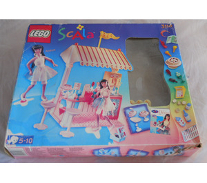 LEGO Cool Ice Cream Café Set 3116 Packaging