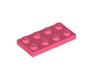 LEGO Koralle Platte 2 x 4 (3020)