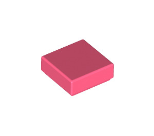 LEGO Coral Tile 1 x 1 with Groove (3070)